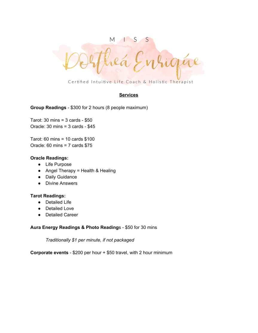 Services - Intuitive Life Coaching-1