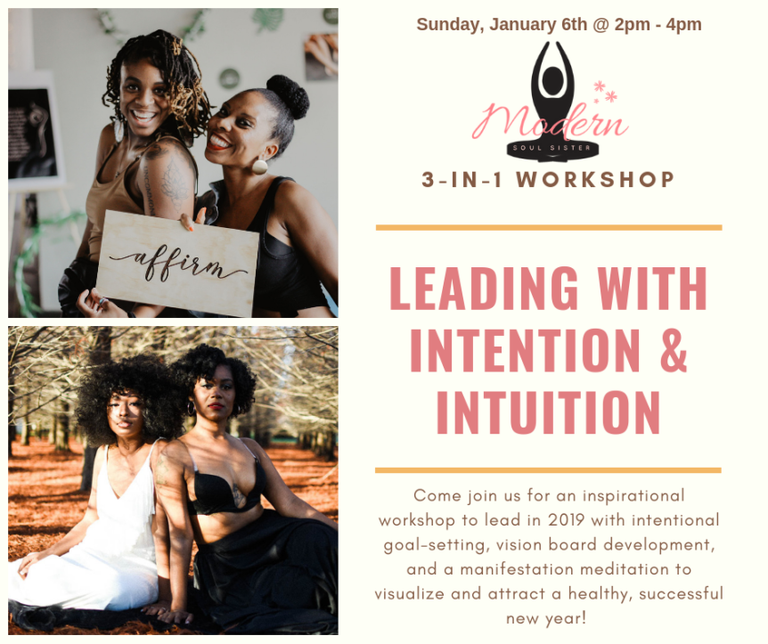 "Our experiences at the ""Leading with Intention & Intuition"" workshop"