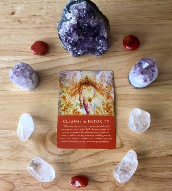 Angel Oracle Card of the Day: Cleanse &Detoxify